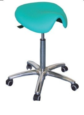 Stool WORK 16, Gas, Upholstered Seat Type Ponny