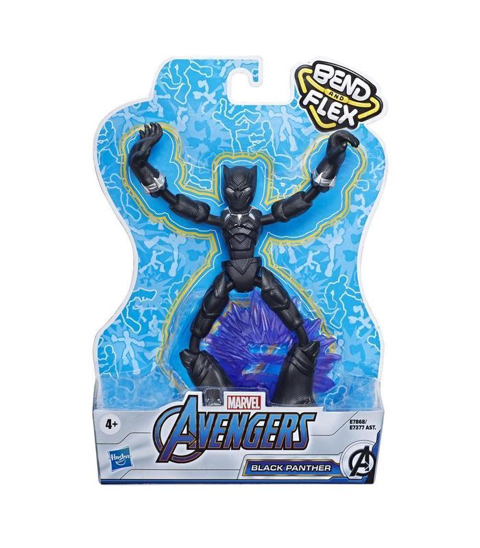 Spiderman Bend And Flex Black Panther Toy Store