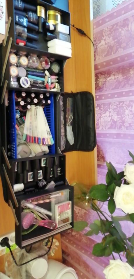 Bolsas p/ Cosméticos organizador maquiagem cosmética