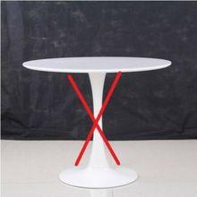 Базовая и верхняя только Saarinen круглая скатерть для обеденного стола белый тюльпан diam 90 см скульптура