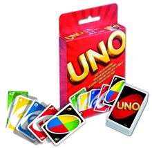 Mattel UNO classique jeu de cartes