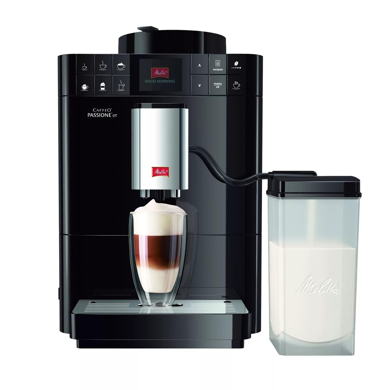 Автоматическая кофемашина Melitta Caffeo Passione OneTouch F 531-102, черный цена и фото