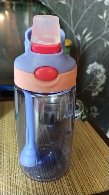 New hot Fashion 480 ml Cute Baby Water Cup Leak Proof Bottle with Straw Lid Children School Outdoor Drinking Bottle Training Cup|Water Bottles|   - AliExpress