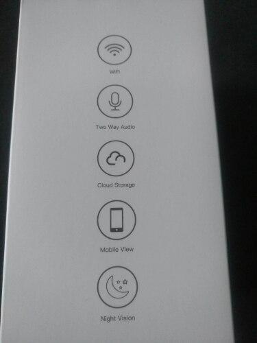 Indoor WiFi wireless security camera