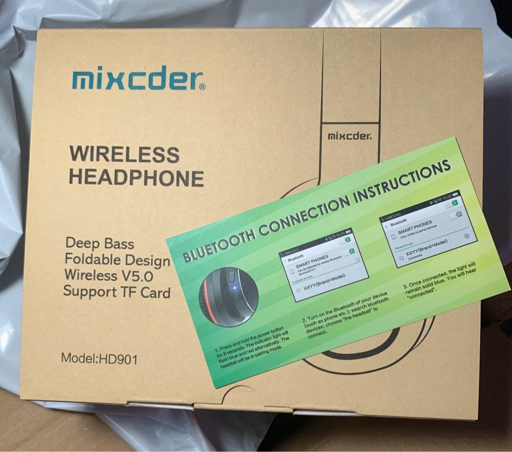-- Mixcder Bluetooth Ouvido