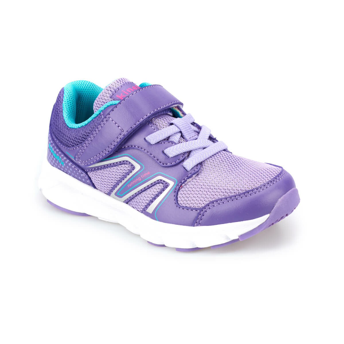 FLO JIKA Purple Female Child Running Shoes KINETIX