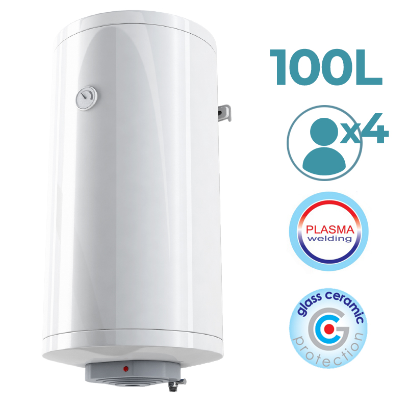 OPTIMA-Vertical Thermo Electric Accumulation (100L) Hot Water With Resistencia Submerged And Temperature Control Board
