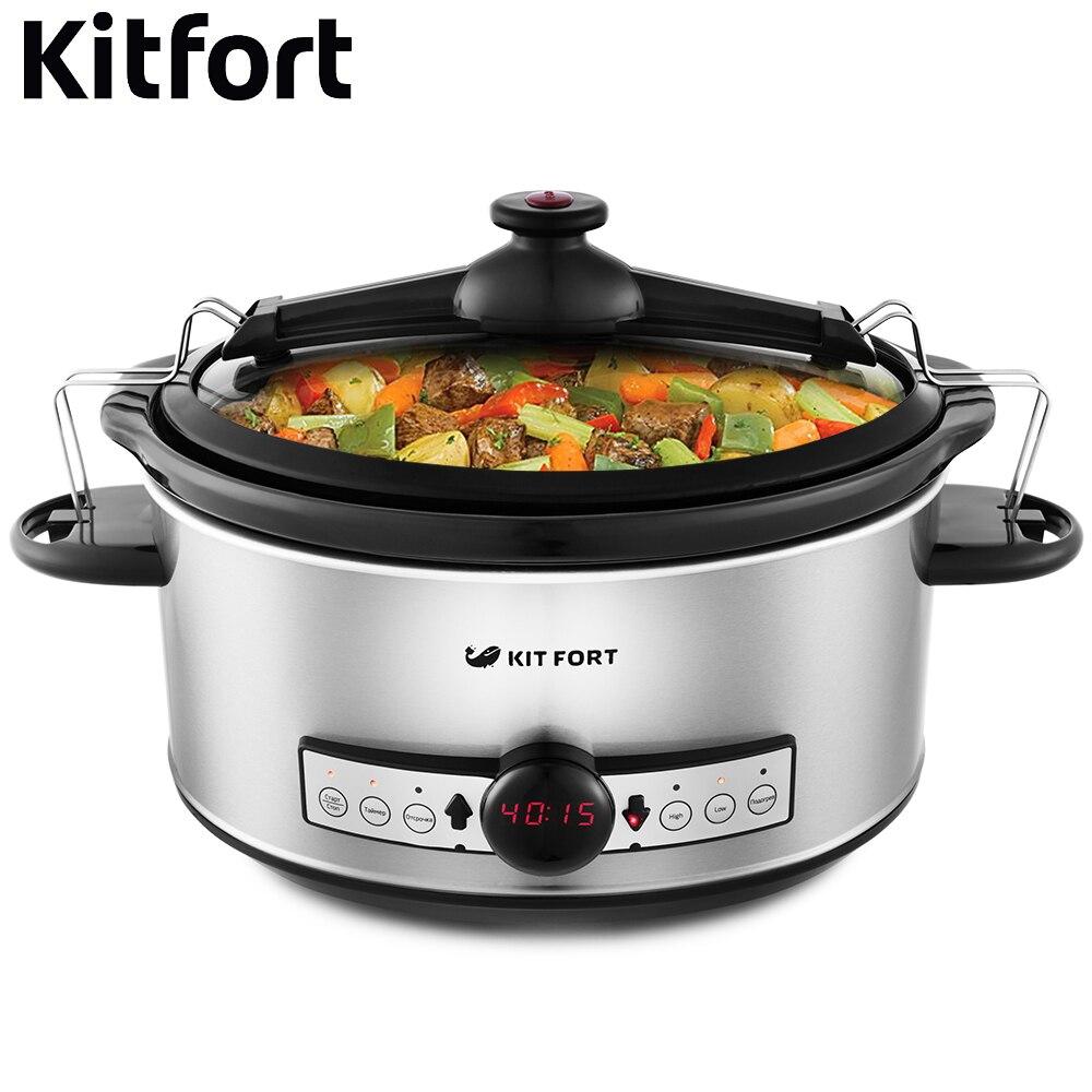 купить Slow cooker Kitfort KT-214 kitchen appliances cooking недорого