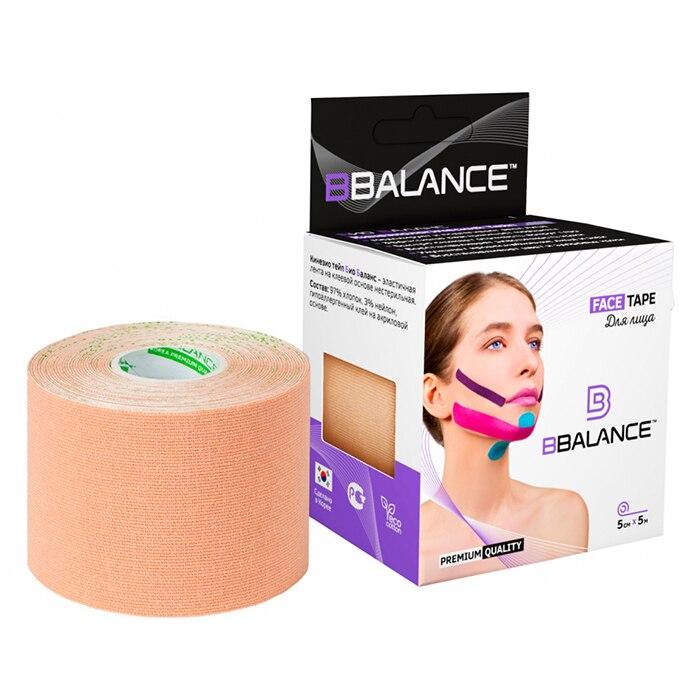 Kinesio Teip Face Bbalance Face Pack (5 Cm * 5 M) Beige