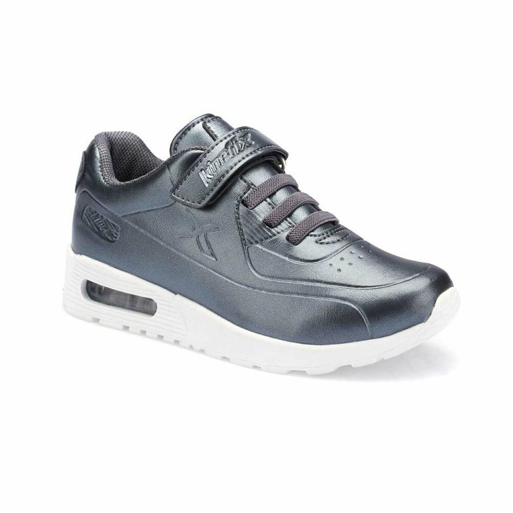 FLO LARGO S Black Female Child Sneaker Shoes KINETIX