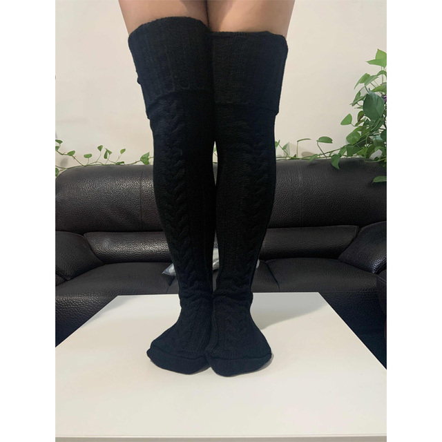 Knitted Pattern Thigh Highs 6