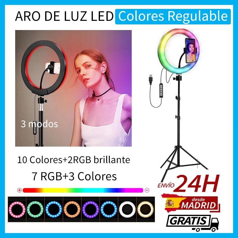 Aro De Luz colores RGB Usb de ...