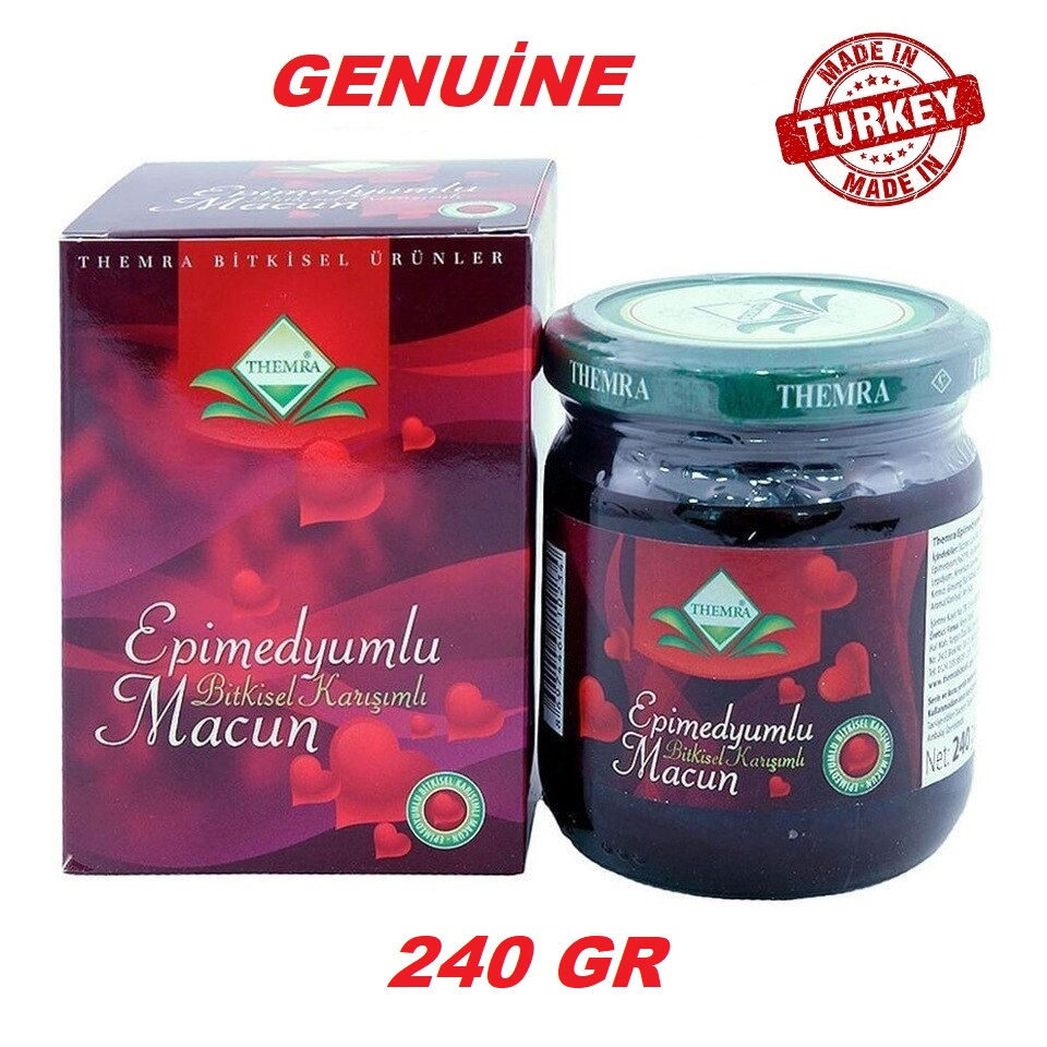 Themra  Epimedium Herbal Paste Aphrodisiac, Horny Goat Weed Macun 240 Gr