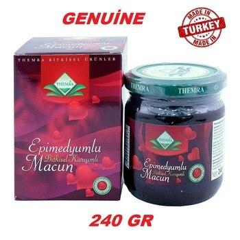 Themra Epimedium Herbal Paste Aphrodisiac, Horny Goat Weed Macun 240 gr
