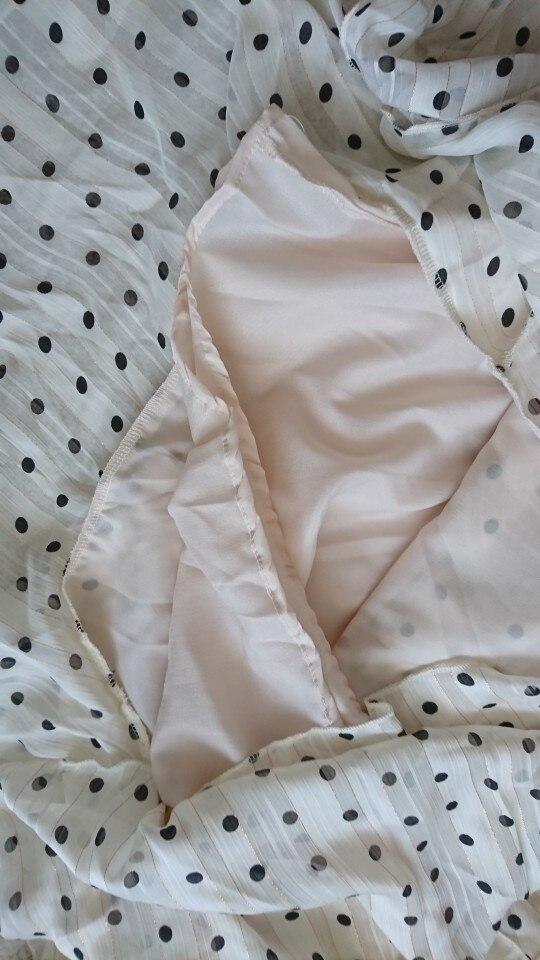 -- Impressão Babados Vestido