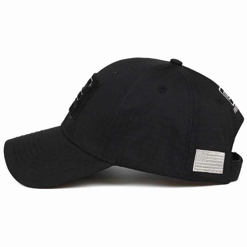 2019 전술 Glock 슈팅 스포츠 야구 모자 낚시 모자 남자 야외 사냥 정글 모자 Airsoft 하이킹 Casquette 모자
