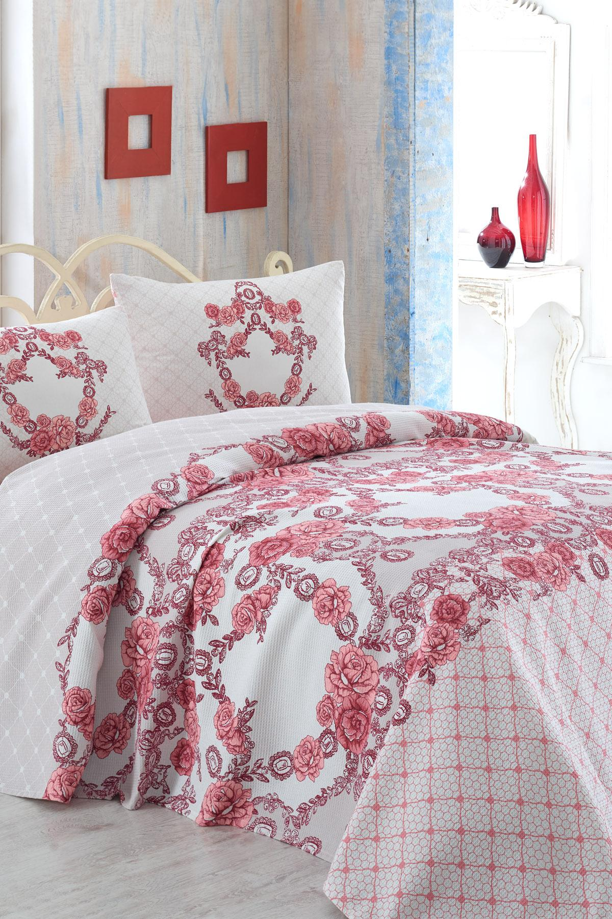 Selin Double Personality TerryCotton Duvet Cover Set