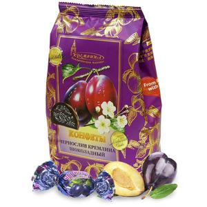 Candy Chocolate кремлина prune the chocolate-snacks and sweets, goods from Russia