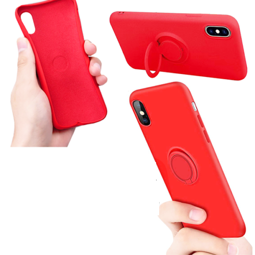 Custodia in Silicone Originale APPLE Per iPhone X Back Cover Case