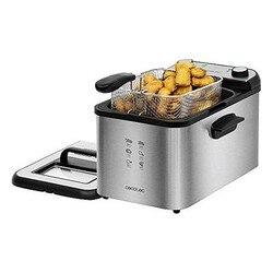 Deep-fat Fryer Cecotec CleanFry Infinity 4000 4 L 3270W Black Silver