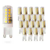 20 шт. Leadersson светодиодный энергосберегающий светильник MOSCU G9 светодиодный (керамический трубчатый) 5 Вт [энергооценка: A +]
