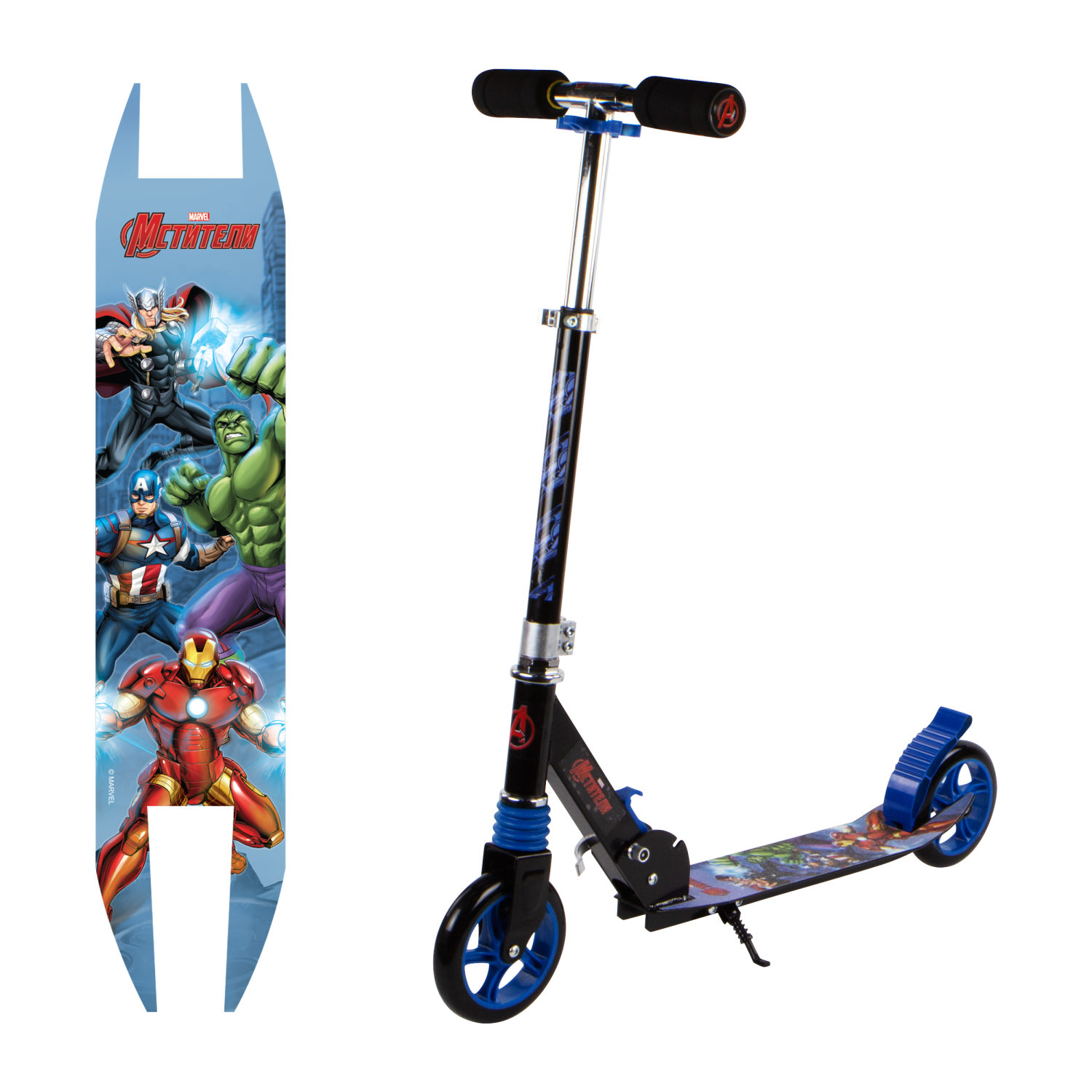 Scooter Two-wheeled Marvel Avengers The Goods For The Sport