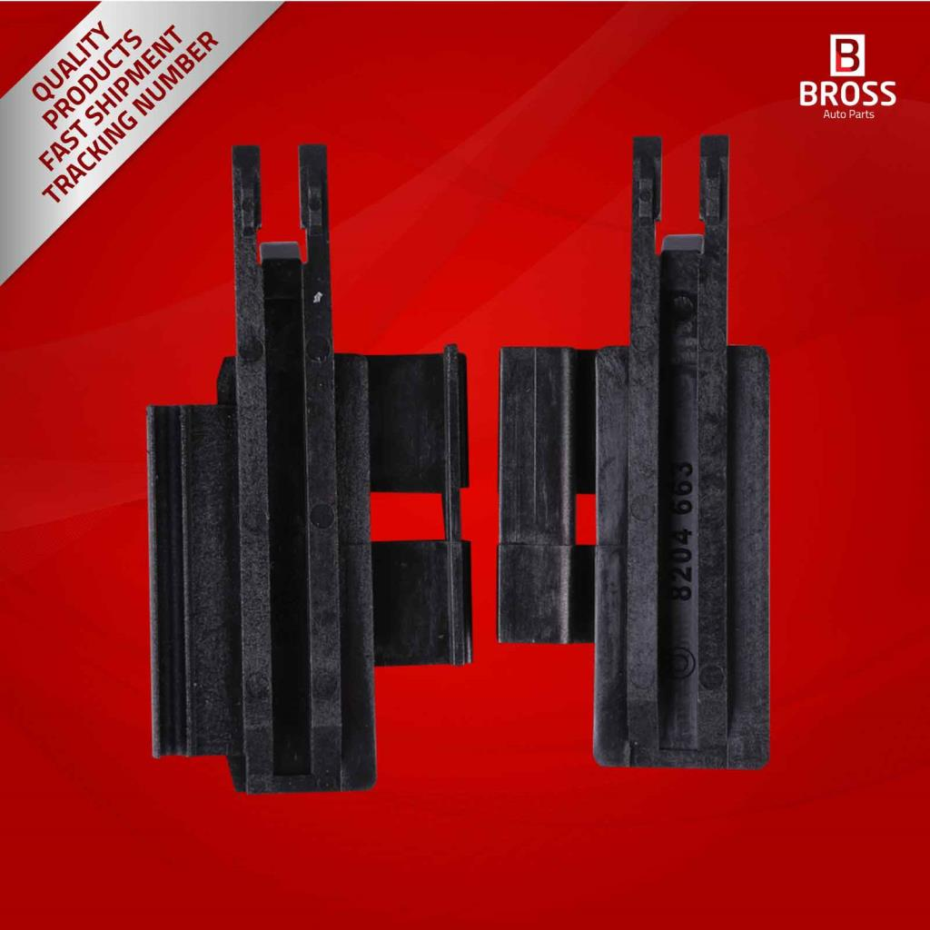 BSR26 Sunroof Slider Guide Rail Left and Right Bracket Clips for: 811694522, 811694523