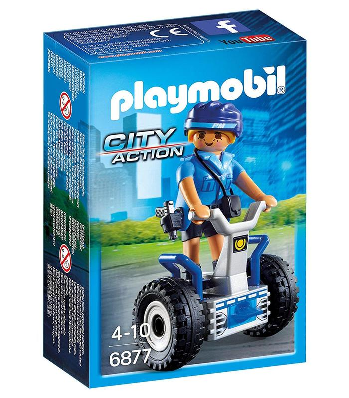 Playmobil 6877 Police With Balance Racer Toy Store Articles Created Handbook