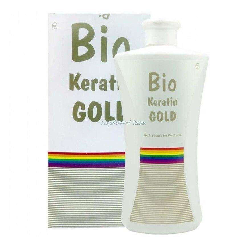 Bio Keratin Gold Brazilian Hair Keratin 700 Ml Hair Straightening Treatment With Pre Keratin Shampoo Hair Care For Repair