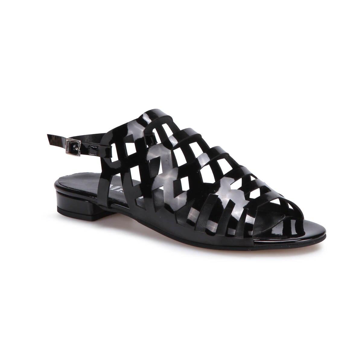 FLO DS17053 Black Women Dress Shoes Miss F