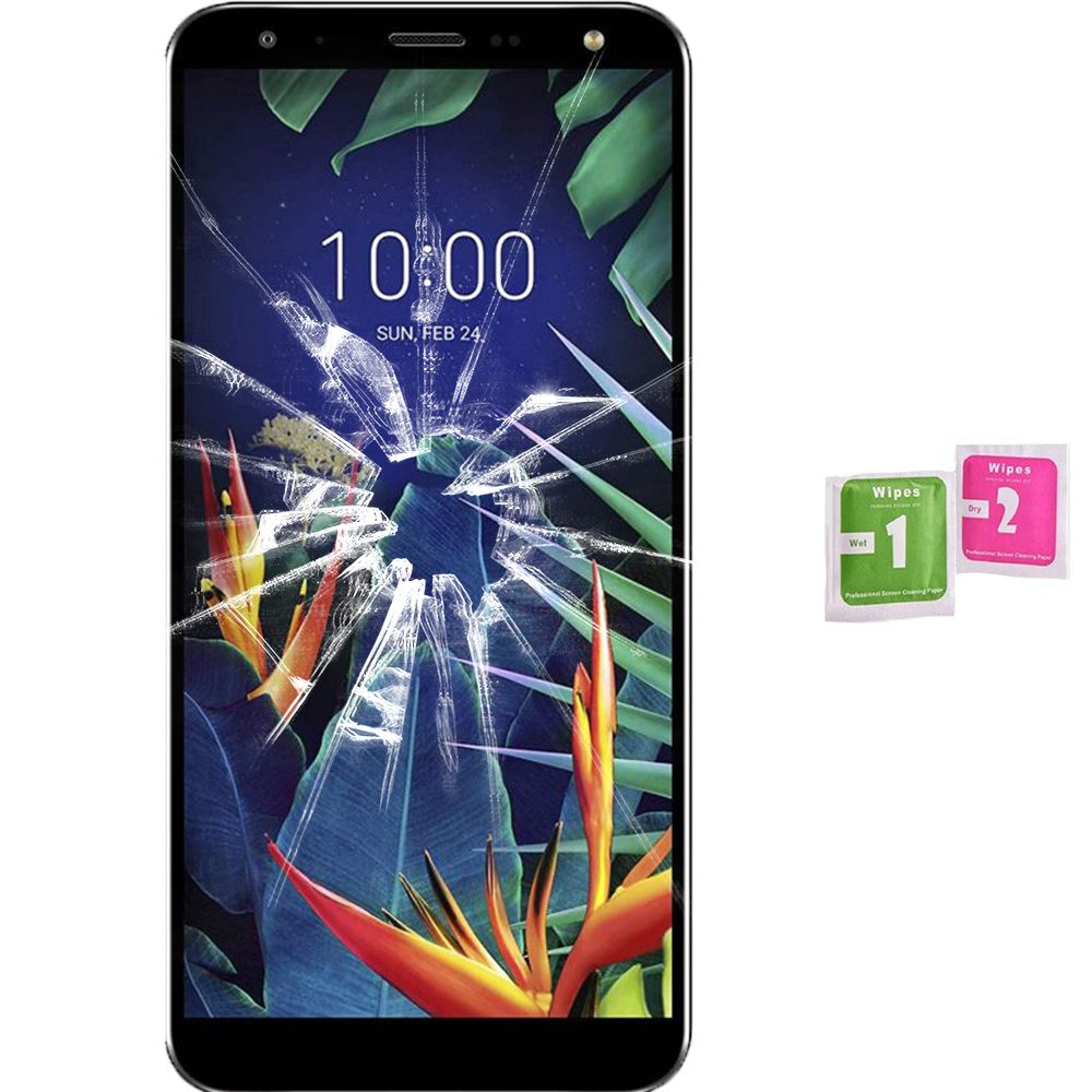 Screen Protector Tempered Glass Vidrio For LG K40 2019 (Generico, Not Full