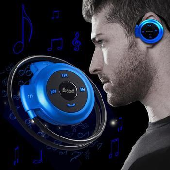 Auriculares inalámbricos de deporte  conectados a través de Bluetooth a tu teléfono móvil con sonido estéreo modelo Mini503.
