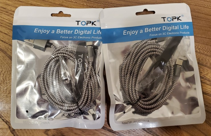 TOPK R Line1 LED Magnetic USB Cable , Magnet Plug & USB Type C Cable & Micro USB Cable & USB Cable for iPhone X 8 7 6 Plus 5s SE-in Mobile Phone Cables from Cellphones & Telecommunications on AliExpress