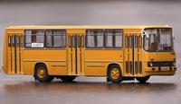 مقياس نموذج 260.01 Aeroflot 1:43 الكلاسيكية لعبة الحافلة الرجعية السوفياتي