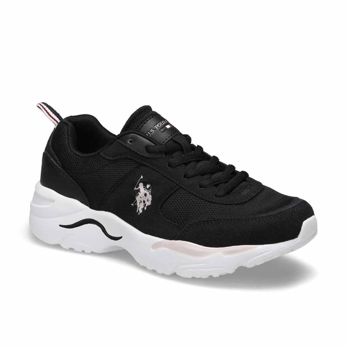 """פלו טוני לבן נשים של נעל נעלי ארה""""ב פולו ASSN."""