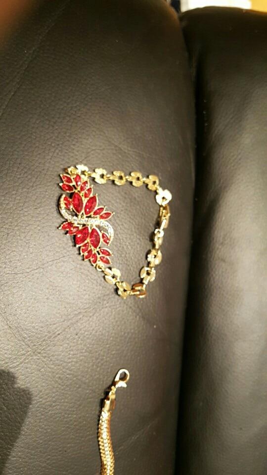 Bijoux de mariage couleur or chaîne Bracelet pour les femmes haute qualité