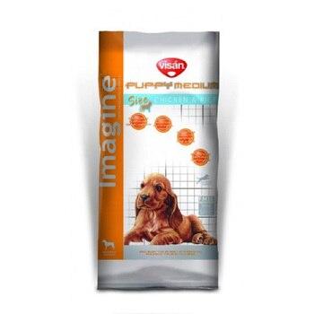 Imagine Medium Puppy&junior Pollo & Arroz Alimento para Perros Cachorro de Raza...