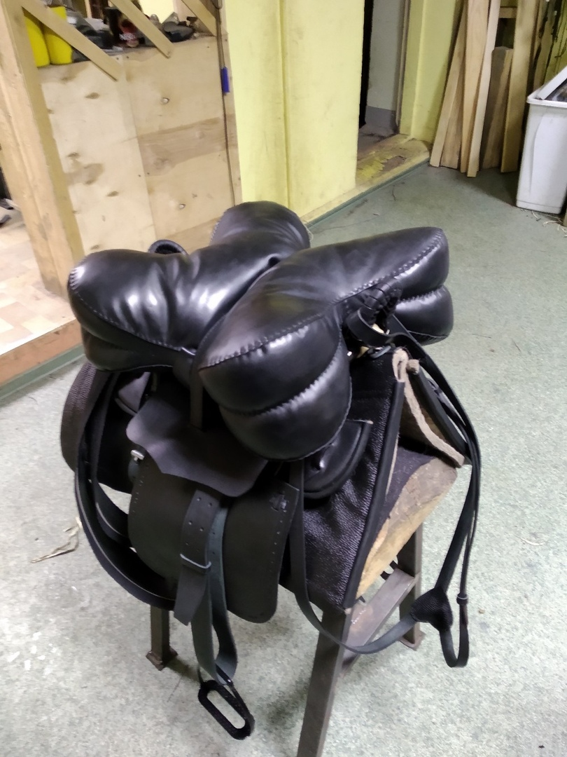 Cossack Saddle With A Kabardian (Caucasian) Cushion