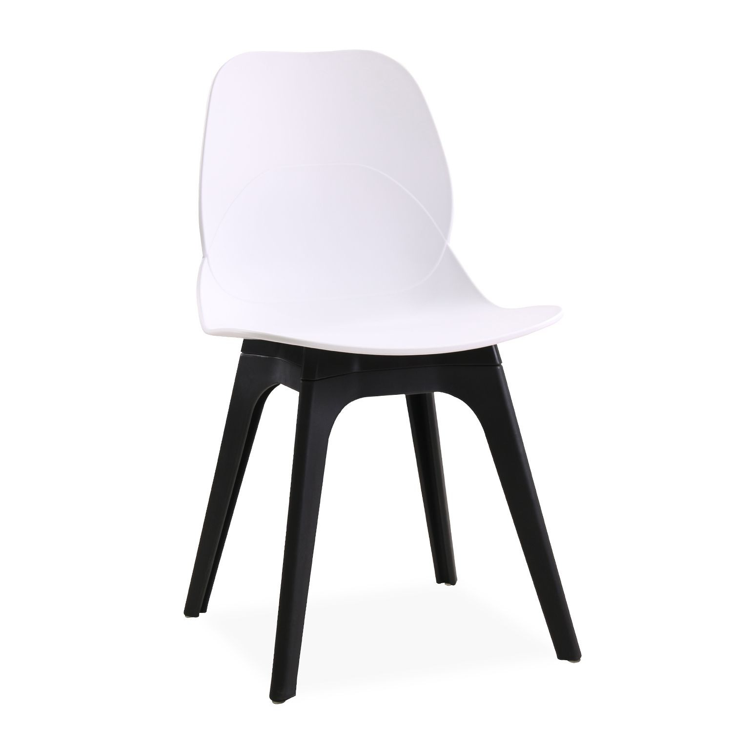 Chair ARIES, Polypropylene Black And White