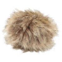 5as 305 pompom made of artificial fur 11 cm (Brown)
