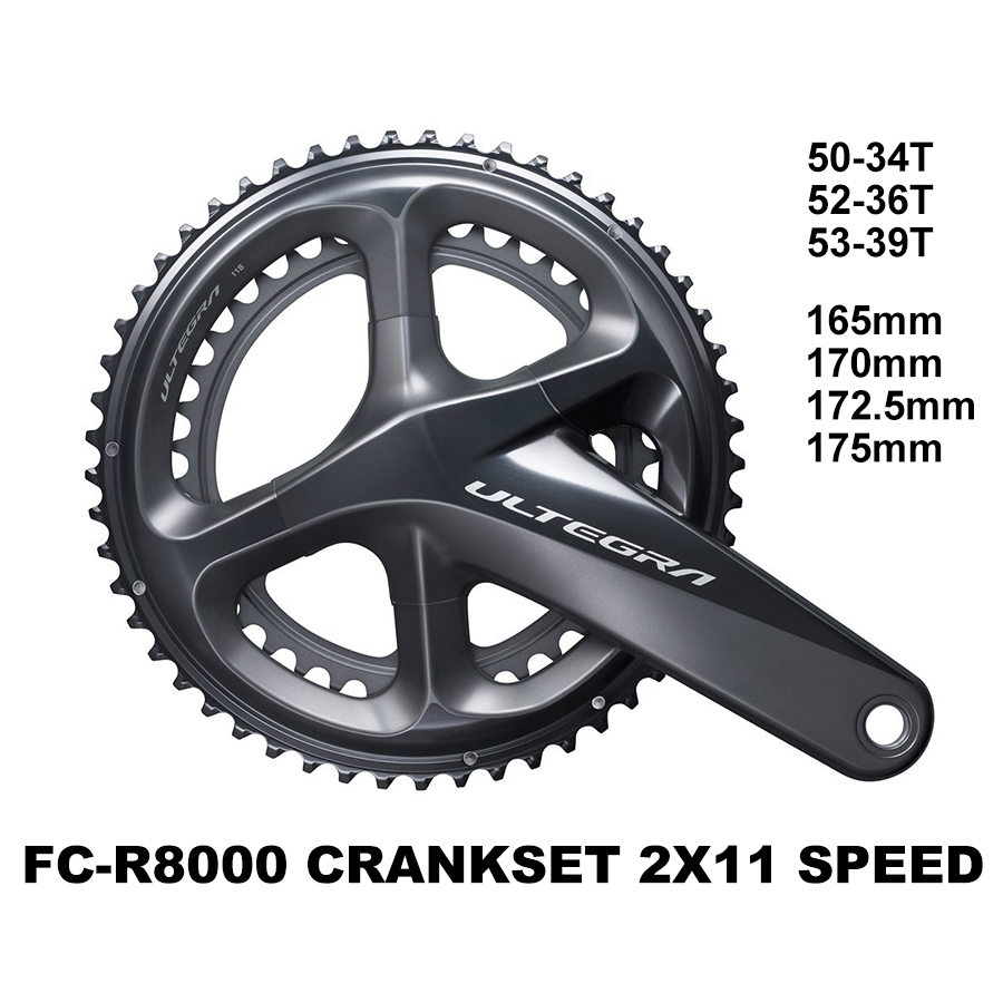 Sram Apex Road Bike Bicycle Crankset Gxp 170//172.5 53 39t 130bcd 170mm