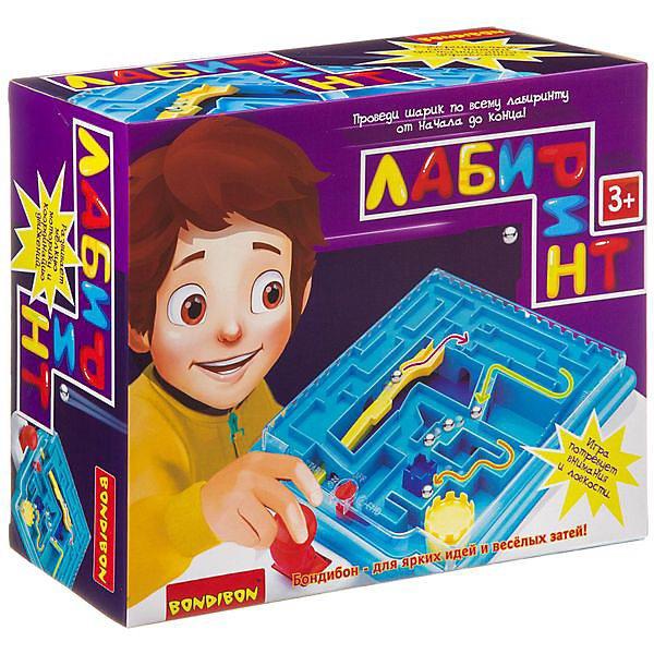 Board Game Bondibon Maze, Joystick (rectangular Box)