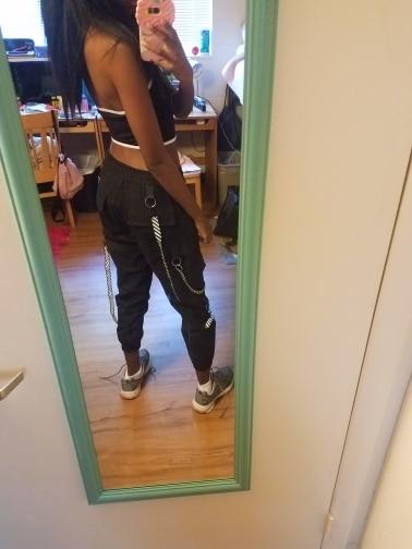 Calças e capris mulheres cintura calças