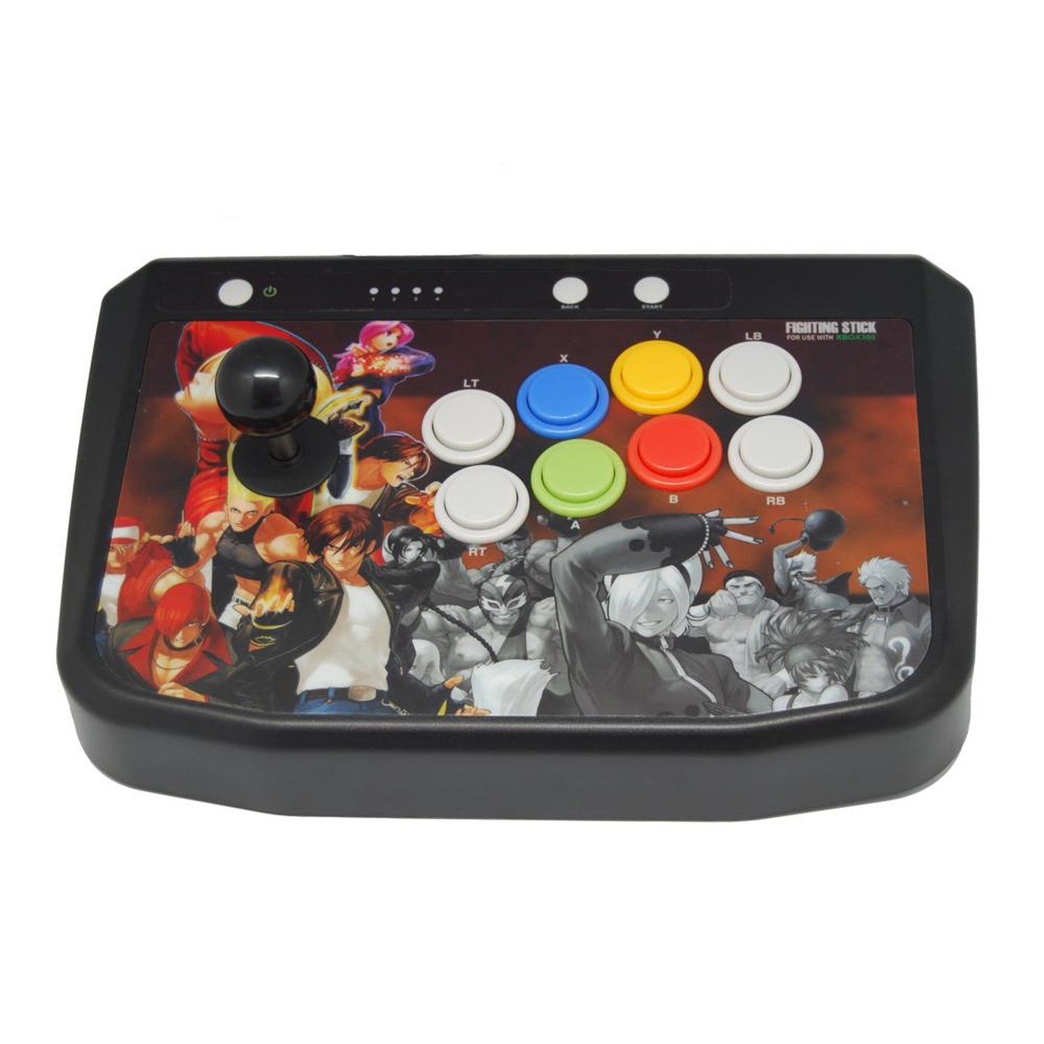 Fighting Stick for XBOX 360 usb powered external side cooling fan for xbox 360 slim