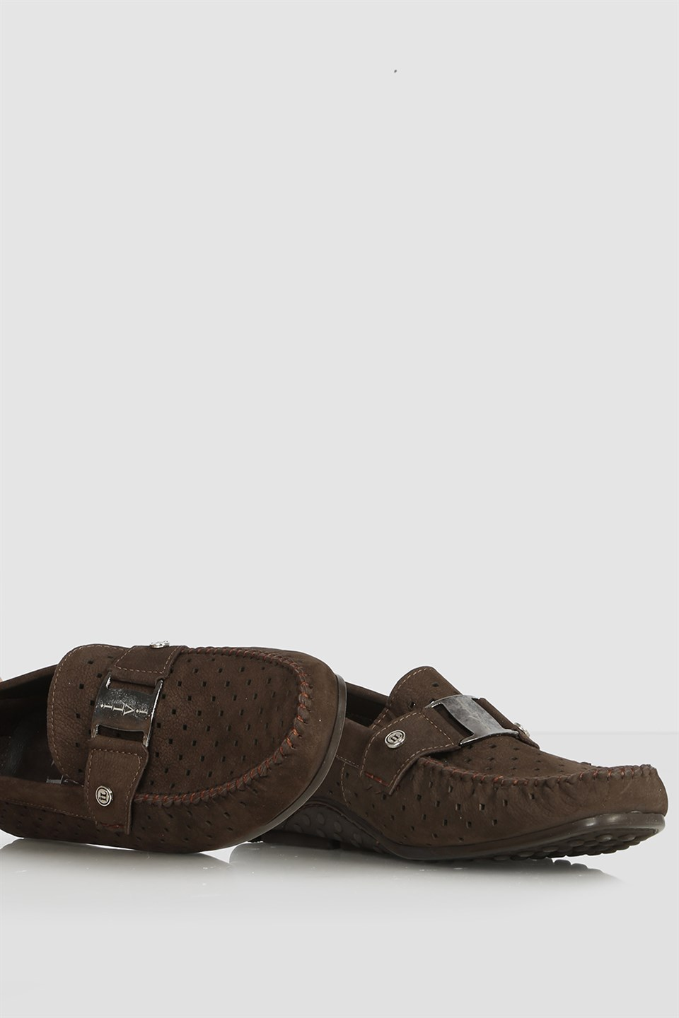 İLVİ Melkor Men's Moccasin Brown Nubuck