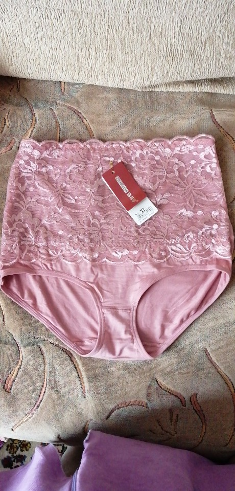 HW4 High Waist Women's Lace Underwear Briefs Female Sexy Seamless Breathable Comfortable Panties Underwears Calcinha Sem Costura photo review