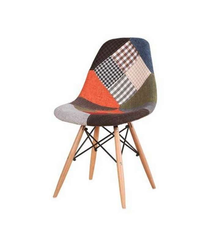 Pack 2 Chairs Patchwork Model Dereck Patch