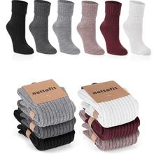 6PCS THERMAL WOOL SLEEP SOCKS SOFT TOUCH HOT GRIP COMFORTABLE TOUCH BEST COMFORT FOR WOMEN NEW SEASON