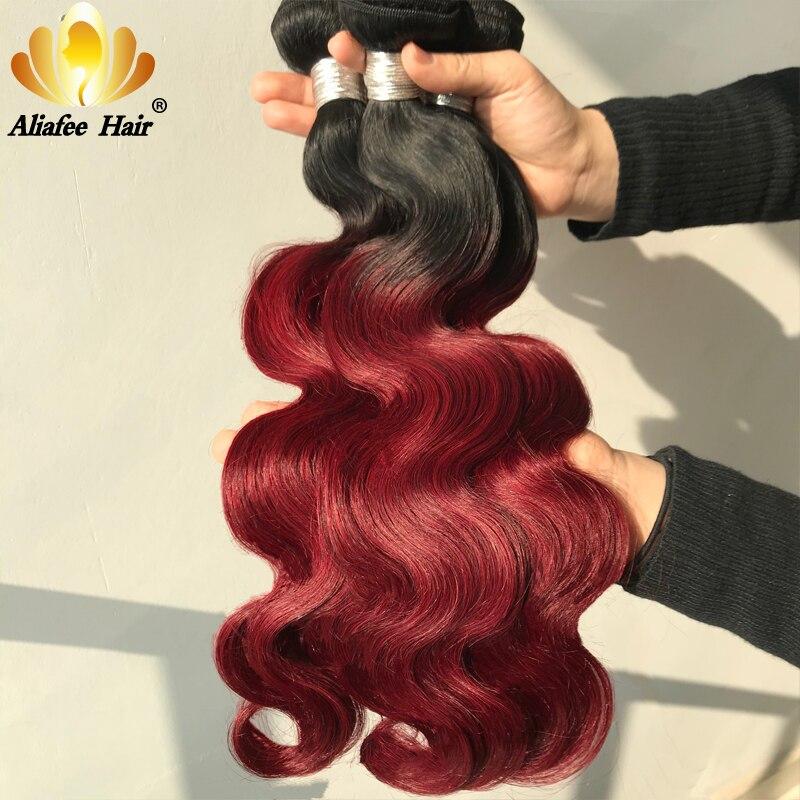 Aliafee Peruvian Body Wave Hair Extensions \