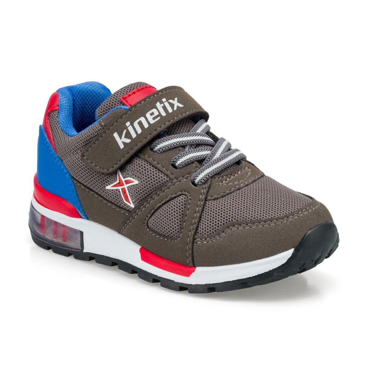 FLO RIVERO Black Male Child Hiking Shoes KINETIX